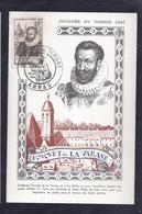 Carte Federale Journée Du Timbre 1946 Arras - Francia