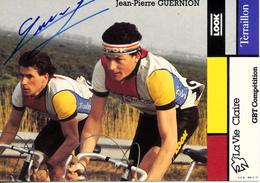 GUERNION Jean-Pierre FRA (Yffiniac (Bretagne), 1-3-'58) 1984 La Vie Claire - Terraillon SIGNÉ! | SIGNED! - Ciclismo