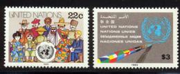 NU (New York) 1985 Yvert 436 / 437 ** TB - Nuovi