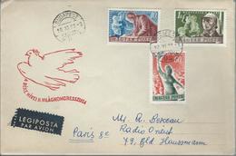 Lettre De BULGARIE A Destination Pour La FRANCE - Cartas