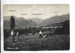ITALIE - BIENO M. 806 - Carte Animée. - Italy