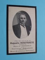DP Augustin VERSTRAETE ( Vandaele/Demaziere/Defoort ) Ingelmunster 1 Feb 1840 - Iseghem 25 Oct 1914 ( Zie / Voir Photo ) - Overlijden