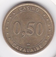 Var -83. Jeton Casino Du Golfe Cavalaire 0,50 - Casino