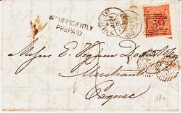 Angleterre , De Glasgow En 1964, Taxée 12 ( Insufficiently Prepaid )  TB - 1840-1901 (Victoria)