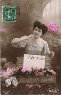 33384. Postal Romatica Vintage CHALONS Sur MARNE (Marne) 1908 - Francia