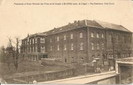 BLEGNY - Pensionnat Et Ecole Normale Des Filles De St-Joseph - Vue Extérieure, Côté Ouest - N'a Pas Circulé - Blégny