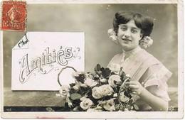 33385. Postal Romatica Vintage VILLEFRANCHE Sur SAONE (Rhone) 1908 - Francia
