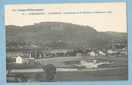 A114  CPA  REMIREMONT  SAINT-ETIENNE (Vosges)   Les Casernes Du 5e Bataillon De Chasseurs à Pied  ++++++ - Saint Etienne De Remiremont