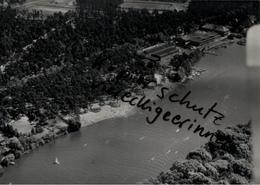 ! FRIEDRICHSHAGEN, Berlin Müggelsee, Seltenes Luftbild  1938, Nr. 36537, PLZ: 12587, Format 18 X 13 Cm - Mueggelsee