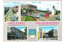Finland - Suomi - Helsinki - Helsingfors - Mannheimervägen - Nice Stamp Stamps Timbre Timbres - Cars - Autos - Finnland