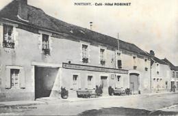 89 PONTIGNY CAFE HOTEL ROBINET - Pontigny