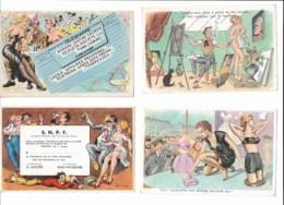 Humour érotisme  Lot De 6 Cartes  Voir Scans - Cartes Postales