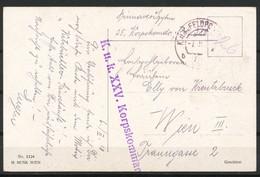 Feldpostkarte - 1850-1918 Imperium
