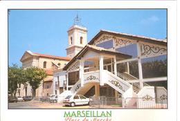 LOT DE 10 CPSM DE MARSEILLAN - Marseillan