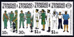 Trinidad & Tobago 1988 Defence Force Unmounted Mint. - Trinidad & Tobago (1962-...)
