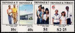 Trinidad & Tobago 1989 Anniversaries Unmounted Mint. - Trinidad & Tobago (1962-...)