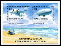 Trinidad & Tobago 1996 End Of WW2 Souvenir Sheet Unmounted Mint. - Trinidad & Tobago (1962-...)