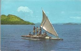 CPM Fidji Fijian Outrigger The Takia - Catamaran Fidjien - Fidschi