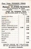 1935 Poissonnerie Clesse LIEGE - Bélgica
