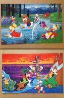 """Disney - Puzzle """"Donald Au Farwest"""" - 1980 - Autres Collections"""
