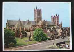 LINCOLN - Cathedral From Eastgate Hotel - CHRISTIANITY  Nv - Lincoln
