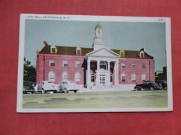 City Hall    Fayetteville  North Carolina    Ref 3530 - Fayetteville
