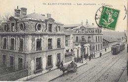 St Saint-Etienne - Les Abattoirs, Tramway - Carte CC N° 78 - Saint Etienne