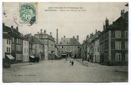 CPA - Carte Postale - France - Senones - Place De L'Hôtel De Ville - 1907 (I9625) - Senones