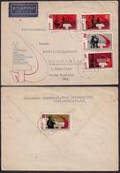 DDR - 1967 - Brief - 50 Jahrestag Der Grossen Sozialistischen Oktober Revolution - [6] République Démocratique