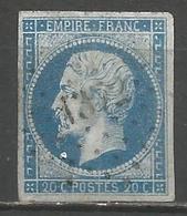 FRANCE - Oblitération Petits Chiffres LP 1372 GAREIN (Landes) - 1849-1876: Période Classique