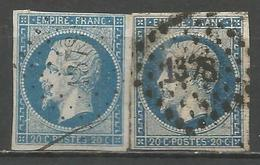 FRANCE - Oblitération Petits Chiffres LP 1378 GEMOZAC (Charente-Maritime) - Marcophilie (Timbres Détachés)