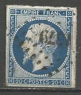 FRANCE - Oblitération Petits Chiffres LP 1379 GENCAIS (Vienne) - Marcophilie (Timbres Détachés)