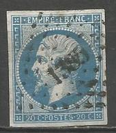 FRANCE - Oblitération Petits Chiffres LP 1385 GENOLHAC (Gard) - Marcophilie (Timbres Détachés)
