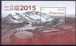 2015 QATAR World Handball Championship For Men Souvenir Sheets  MNH - Qatar