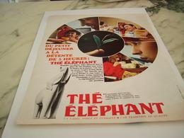 ANCIENNE PUBLICITE THE DE L ELEPHANT  1967 - Affiches