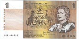 Australia 1 Dollar 1983 Pk 42 D Firmas Johnston Y Stone UNC - Government Bank Issues 1910