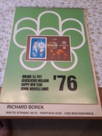 Old Calendar - Richard Borek, Montreal 1976, Excellent, RR - Calendars
