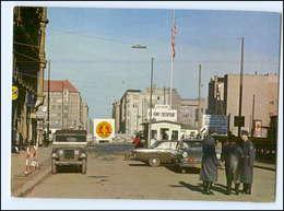 XX00900/ Berlin Checkpoint Charlie DDR Grenze Zonengrenze AK Ca.1965 - Allemagne