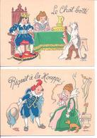 Lot De 9 Cartes Ilustrateur Signé  JACK - De La Superbe Serie LES CONTES DE FEES - Künstlerkarten