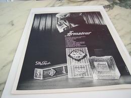 ANCIENNE PUBLICITE LE PARFUM ARMATEUR DE PAYOT 1967 - Perfume & Beauty