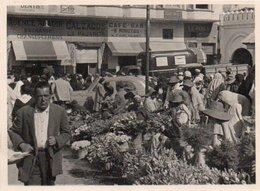 95Bv  Maroc Photo Tanger Marché Des Fleurs - Tanger