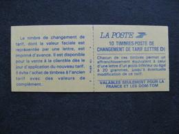 A). TB Carnet 2713 - C1, RGR-2 En Marge, Neuf XX. - Carnets