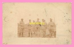 CARTE PHOTO  De Soldats, - Personen