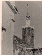 95Bv  Maroc Photo Tanger Le Minaret De La Mosquée - Tanger