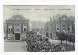 CPA 76 Saint Romain De Colbosc La Mairie Et La Salle Des Réunions - Saint Romain De Colbosc