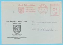 J.M. 29 - Deutschland - EMA - 43 - Fallersleben 1967 - Hoffmannhaus - Hoffmann-Museum - Löwe - [5] Berlin