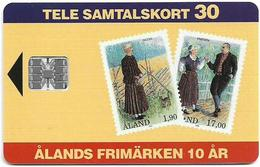 Aland - Åland Post - Stamps Of Åland - Chip SC7 - 11.1993, 26.000ex, Mint (check Photos!) - Aland