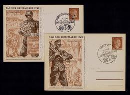 TRANSPORTS COURRIER MAIL Rowno Iwolhynieri 1942 Stamp's DAY Deutsche Feldpost METZ Industry Construction Ships Gc4048 - Factories & Industries
