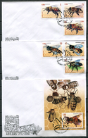 Cuba 2017 / Insects Bees FDC SPD Insectos Abejas Abeilles Bienen / Cu7407  35-45 - Abejas