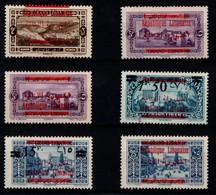Grand Liban Lot Timbres Neuf * Charnières TB 1928 - Great Lebanon (1924-1945)